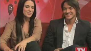 Бриджет Риган, Craig Horner & Bridget Regan on TVGuide