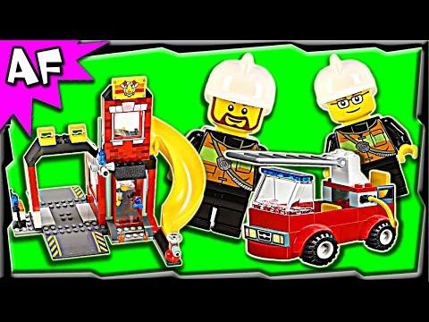 Vidéo LEGO Juniors 10671 : La caserne des pompiers