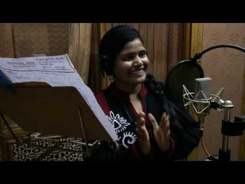 !! RECORDING TIME !! KHUSHBOO UTTAM !! DURING OF  BHOJPURI HOT HOLI SONG 2017