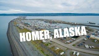 Homer, Alaska Aerial