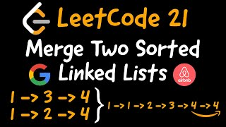 LeetCode 21 - Merge Two Sorted Linked Lists in Python
