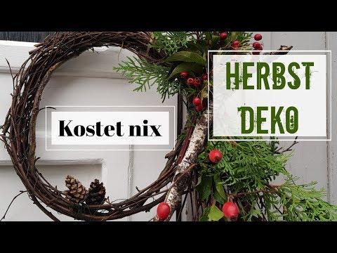 HERBSTDEKO Türkranz schnell und einfach selber machen I DIY Herbst Deko 2019 KatisweltTV