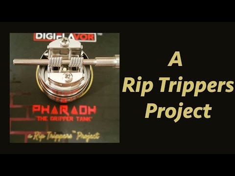 YouTube Video zu Digiflavor Pharaoh25 Tröpfelverdampfer