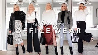 CHIC OFFICE WEAR OUTFIT IDEAS! CUTE OUTFITS FOR WORK 2019 (FALL/WINTER)