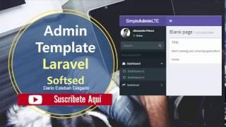 03. Integrate Admin Template Laravel in 5 minutes (2017)