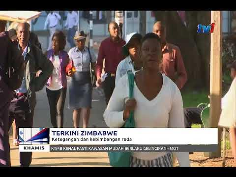 TERKINI ZIMBABWE - KETEGANGAN DAN KEBIMBANGAN REDA [23 NOV 2017]