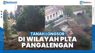 Terjadi Tanah Longsor di Wilayah PLTA Pangalengan Bandung, Akses Jalan Tertutup