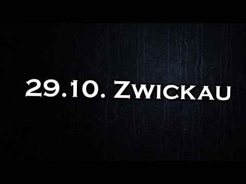 Tourtagebuch MO[NU]MENT Part II – 29.10.2016 Zwickau