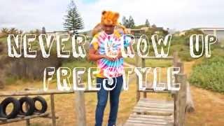 Khuli Chana - Never Grow Up   Jay Makopo Freestyle