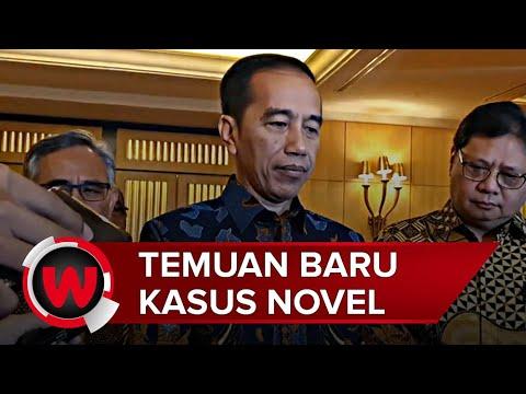 Presiden Jokowi Sebut Ada Temuan Baru di Kasus Novel Baswedan