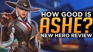 Overwatch: How Good is ASHE? - Hero 29 Gameplay Review
