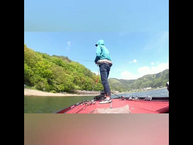 吉田尚晃 撮影 河口湖エンジョイフィッシング❗