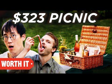 Which One Wins: $7 Picnic Vs. $323 Picnic