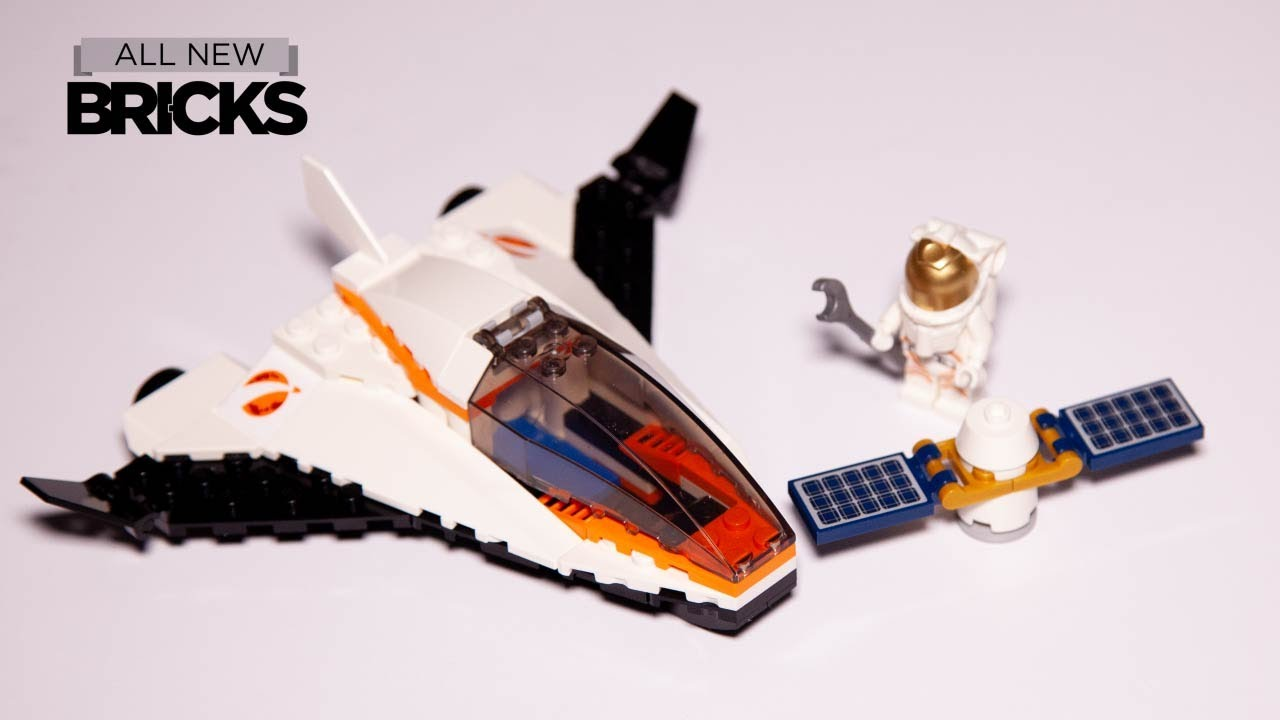 Lego City 60224 Satellite Service Mission Speed Build