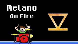 Melano - On Fire (Blind Drum Cover) -- The8BitDrummer