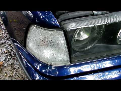 BMW E36 3er Blinker Ausbau schwarz / Klarglas Umbau Anleitung EBA