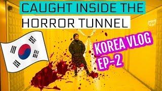 KOREA Travel Vlog Night Adventure HORROR Tunnel In Korea Vlog Ep -2 | SuperPrincessjo