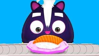ГОТОВКА ЧЕЛЛЕНДЖ МАСТЕР СУШИ / Развлекательное видео для детей в мультяшной, веселой игре #ПУРУМЧАТА