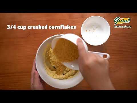 Hari Raya Cornflakes Cookies Recipe