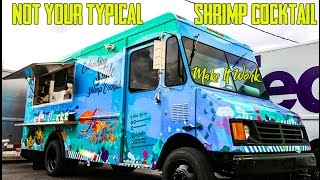 How To Make A Colombian Shrimp Cocktail - Food Trucks Miami