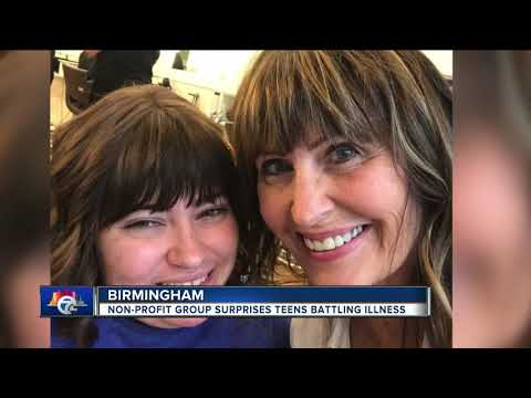 Birmingham non-profit helps teens normalize their lives during long hospital stays