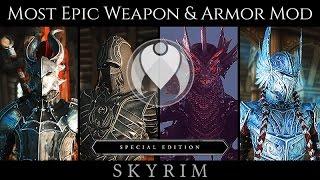 MOST LEGENDARY WEAPON AND ARMOR MOD | Skyrim SE Ultra ENB Photoreal Graphics | Nvidia GTX 1080