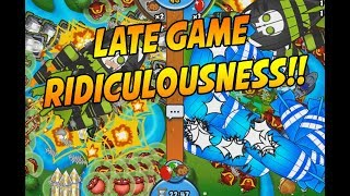EZ PZ - Ninja Cannon LATE GAME - Bloons TD Battles