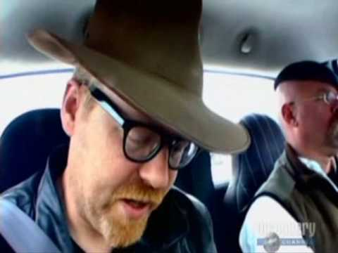 Insert from MythBusters - Tailgate Up or Down 2 (from More Myths Revisited) fuel consumption test