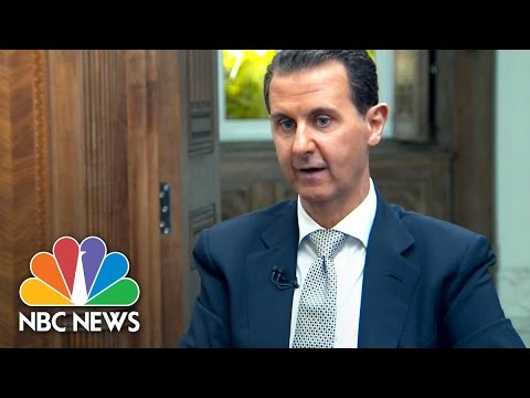 Syrian President Bashar al-Assad Calls Video Of Chemical Attack 'Fabrication' | NBC News