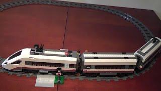 preview picture of video 'unboxing LEGO City 60051 superszybki pociąg pasażerski rozpakowanie'
