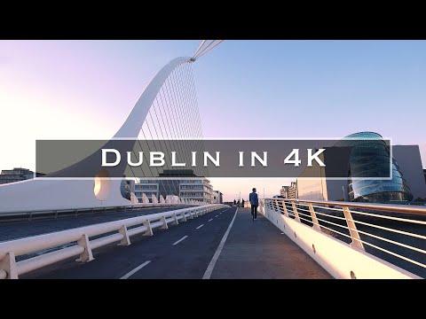 סרטון מדהים באיכות 4K על העיר דבלין
