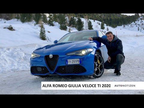 Alfa Romeo Giulia Veloce TI 2020: Review, Test, Fahrbericht