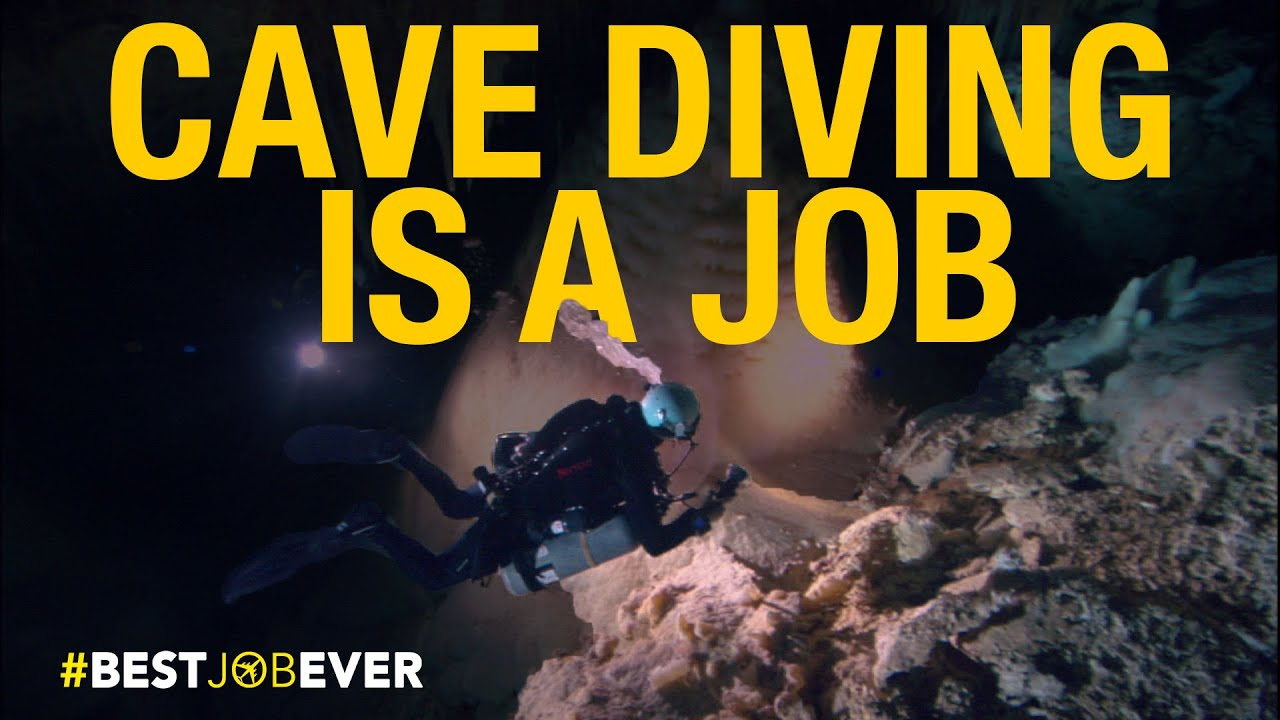 Underwater Cave Diving | Best Job Ever thumbnail