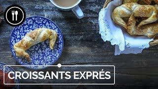 Receta fácil de Croissant con Chocolate para el Día de la Madre | Directo al Paladar
