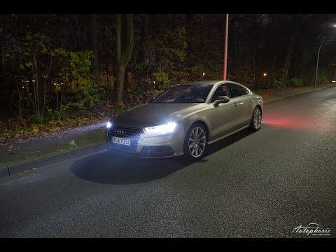 Fahrbericht Audi A7 Sportback 2.0 TFSI (252 PS - Vierzylinder)