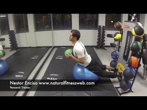 Back, Weighted Ball Hyperextension, Natural Fitness Data