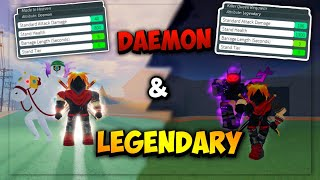 Stand Upright Legendary Killer Queen BTD And Daemon MIH Showcase!