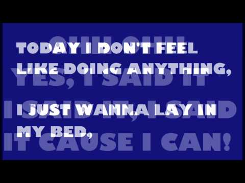 The Lazy Song - Bruno Mars (Official Lyrics Video)
