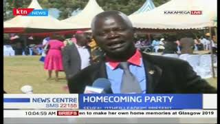Home coming ceremony for Didmus baraza in Bungoma