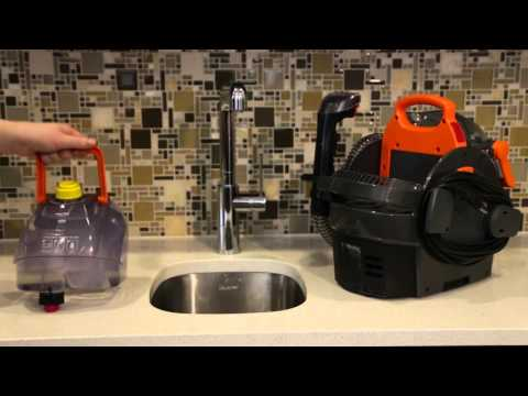 ProHeat 2X® Lift-Off® Upright Carpet Cleaner - How to Use EasyFill Formula