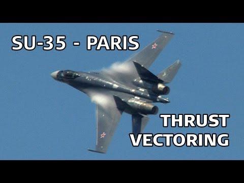תמרונים מדהימים של מטוס קרב סוחוי!
