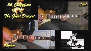 36 Crazyfists - The Great Descent (Dual Guitar Cover)