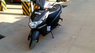 New Honda Dio Black Matte