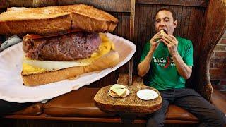 World's FIRST HAMBURGER!! 🍔 Amazing VERTICAL BURGER Grills Since 1898!!