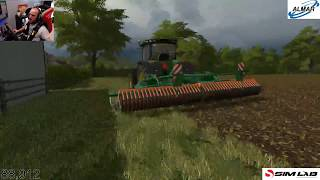 farming simulator 17 /Meadow Grove farm/ day 16 / seasons