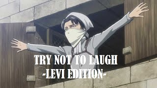 Attack On Titan Try Not To Laugh - Levi Edition