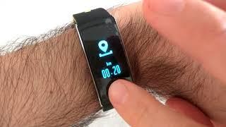 Q8 IP68 Waterproof Smart Wristband Usage Summary