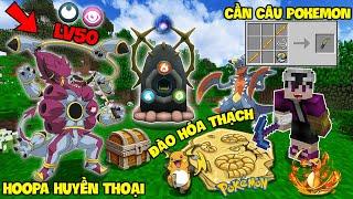 Hoopa  - (Pokémon) - MINECRAFT PIXELMON #13 | ĐÀO HÓA THẠCH POKEMON, BẮT ĐƯỢC HOOPA HUYỀN THOẠI VÀ CHẾ TẠO CẦN CÂU VIP