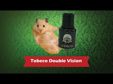 Tobeco Double Vision - обслуживаемый атомайзер для дрипа - видео 1