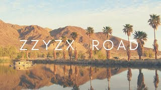 Zzyzx Road California Drone Footage Video 2018